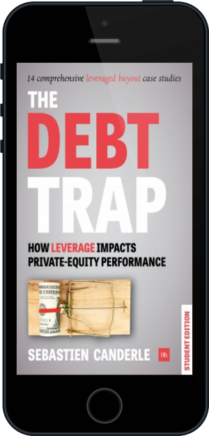 Cover of The Debt Trap - Student Edition on Mobile by Sebastien Canderle