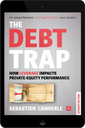 Cover of The Debt Trap - Student Edition on Tablet by Sebastien Canderle