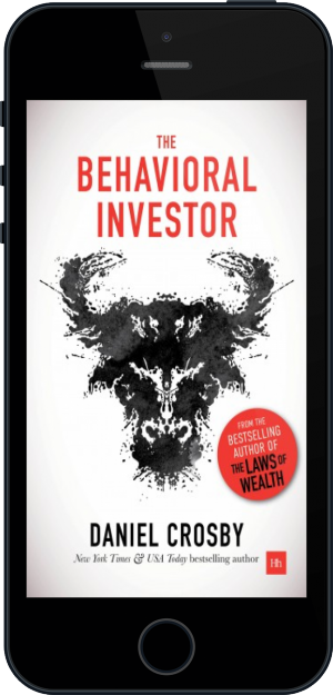Cover of The Behavioral Investor on Mobile by Daniel Crosby