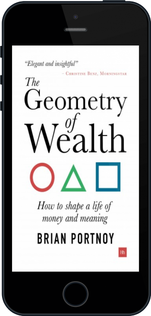 Cover of The Geometry of Wealth on Mobile by Brian Portnoy