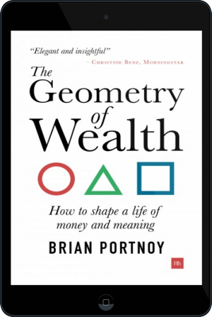 Cover of The Geometry of Wealth on Tablet by Brian Portnoy