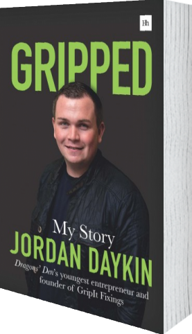 Cover of Gripped by Jordan Daykin