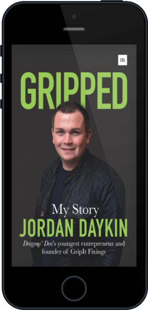 Cover of Gripped on Mobile by Jordan Daykin