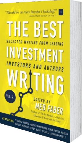 Cover of The Best Investment Writing Volume 2 by Meb Faber