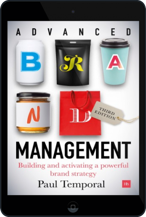 Cover of Advanced Brand Management -- 3rd Edition on Tablet by Paul Temporal