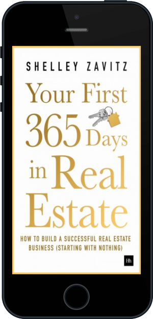 Cover of Your First 365 Days in Real Estate on Mobile by Shelley Zavitz
