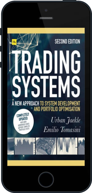 Cover of Trading Systems 2nd edition on Mobile by Emilio Tomasini and Urban Jaekle