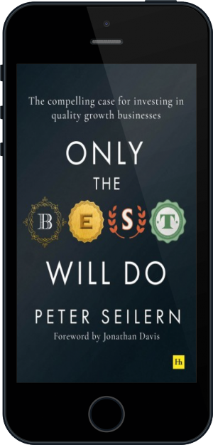 Cover of Only the Best Will Do on Mobile by Peter Seilern