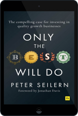 Cover of Only the Best Will Do on Tablet by Peter Seilern