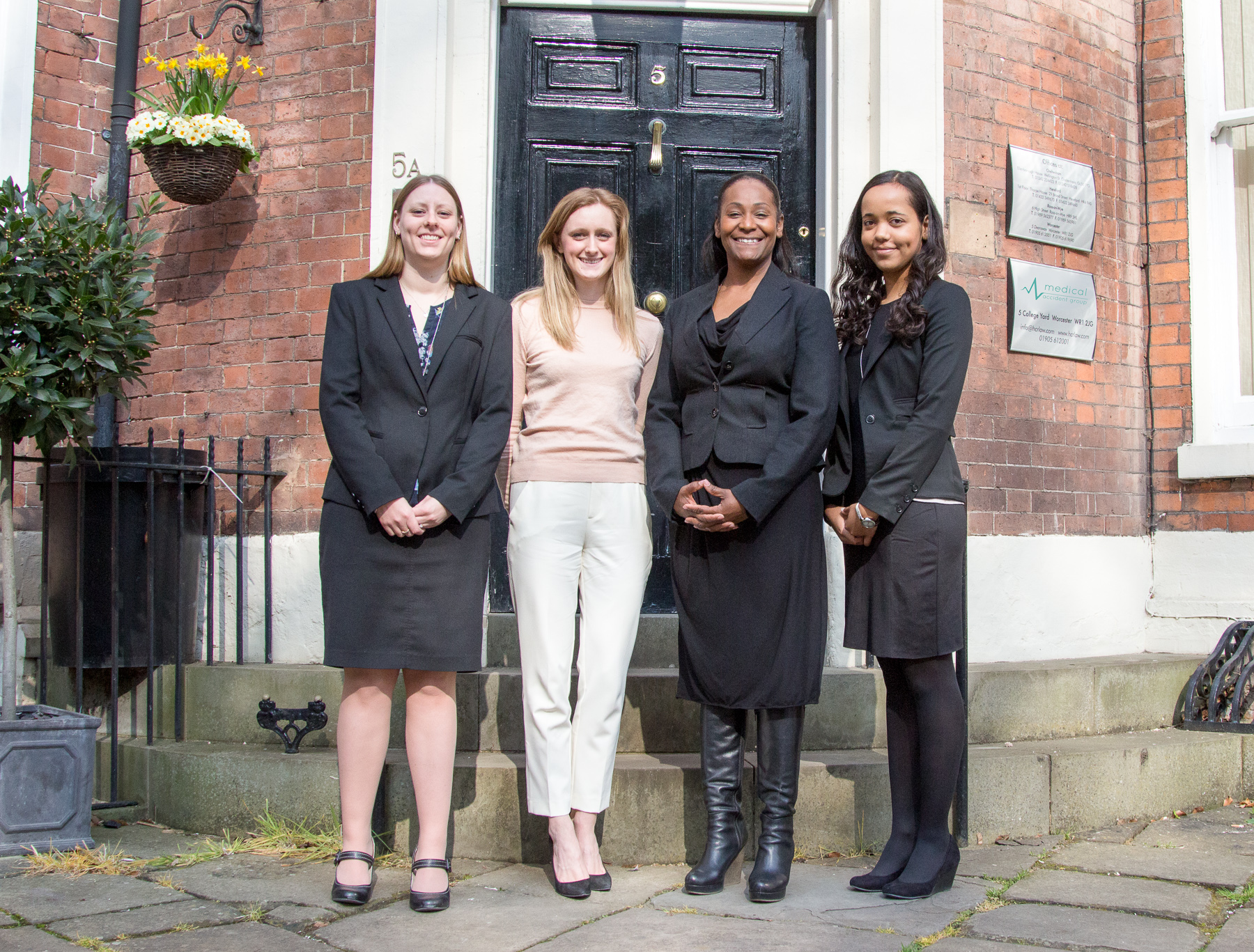 L-R Beverley Brewer, Eve Loughrey, Inez Brown, Nathalie Needham