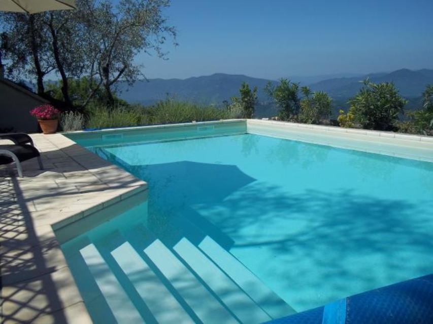 Detached stone villa with pool and panoramic view ref for Gartenpool 10x5