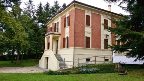 Emilia Romagna, Italy Detached 600sq M Art Nouveau Villa With Garage And  Grounds, Located In Romagnano, Emilia Romagna.It Underwent Comprehensive  More.