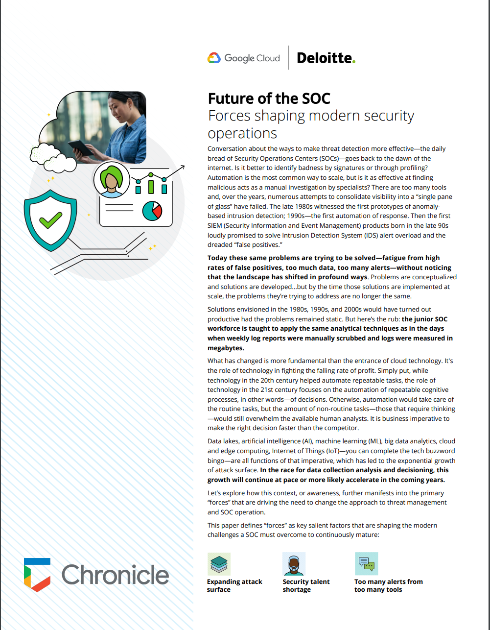 Future of the SOC- Forces shaping modern security operations
