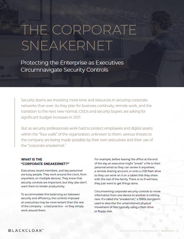 Corporate SneakerNet