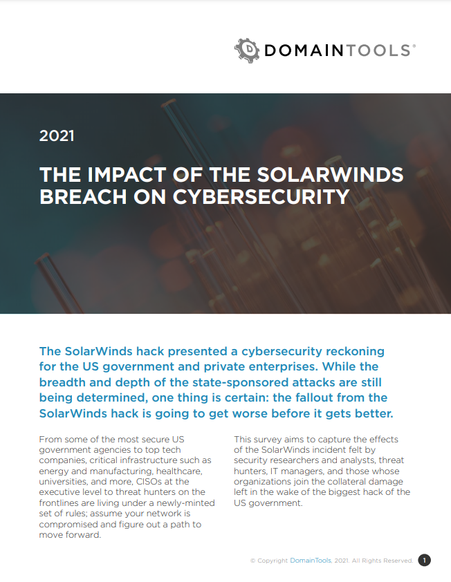 The Impact of the SolarWinds Breach on Cybersecurity