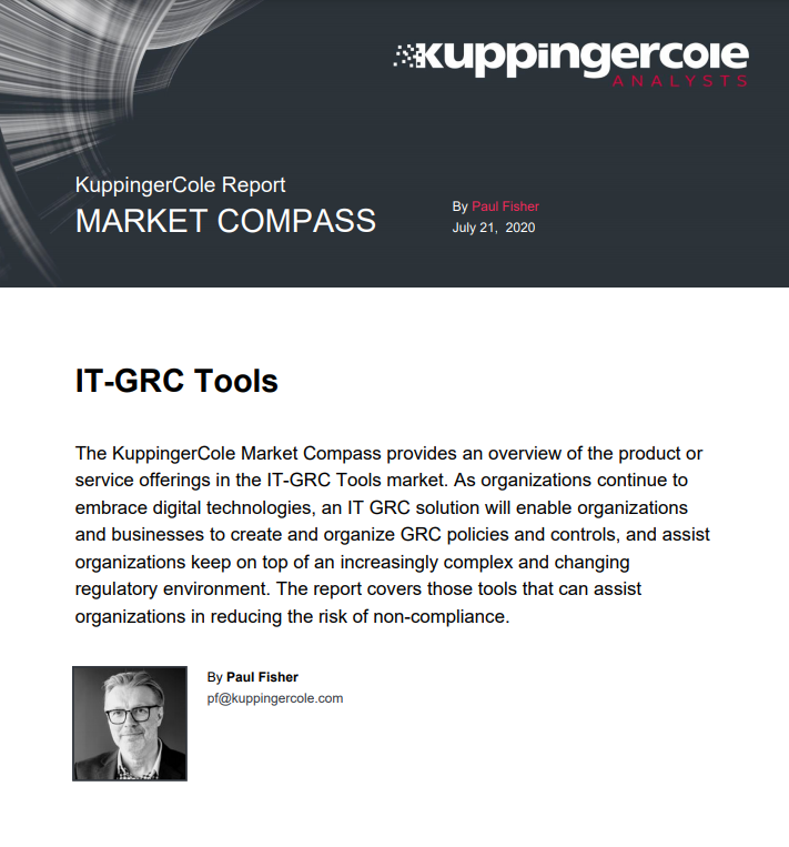 KuppingerCole Market Compass IT-GRC Tools