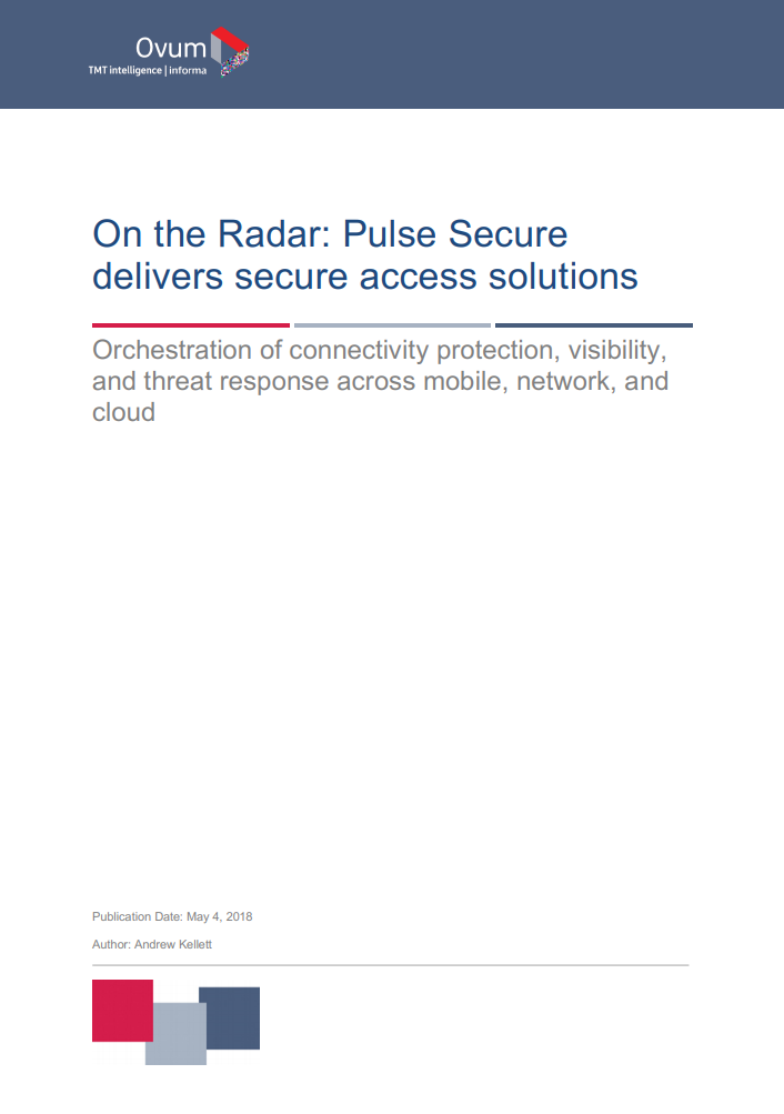 On the Radar: Pulse Secure delivers secure access solutions