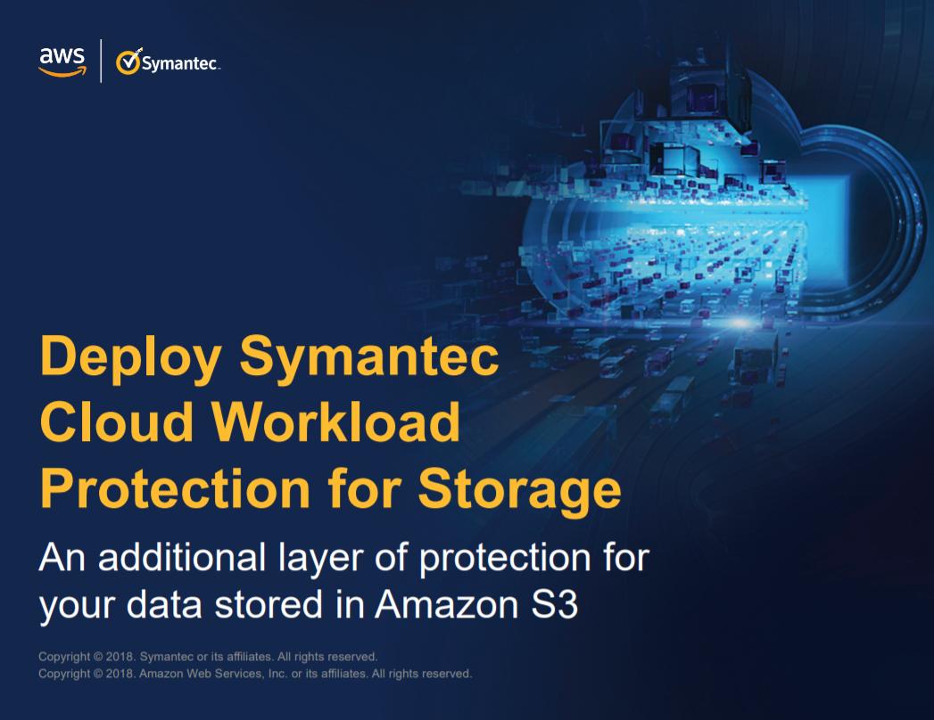 Deploy Symantec Cloud Workload Protection for Storage