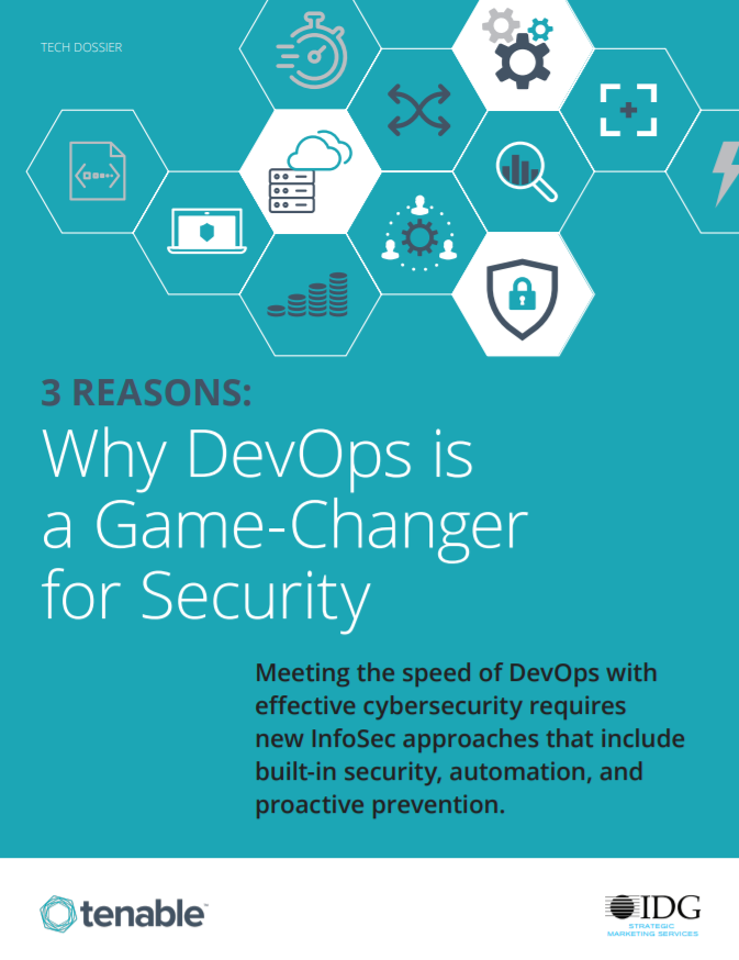 3 Reasons Why DevOps Is a Game-Changer for Security whitepaper