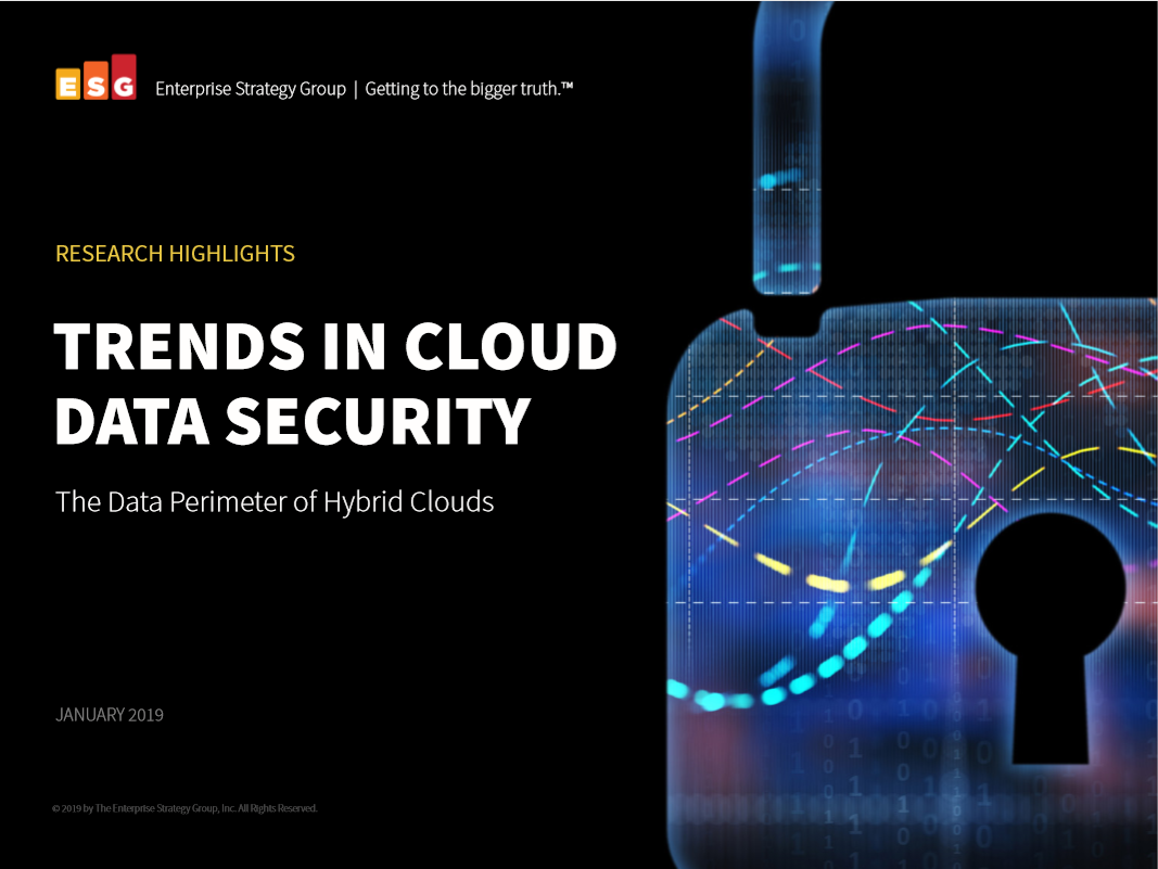 ESG: Trends in cloud data security