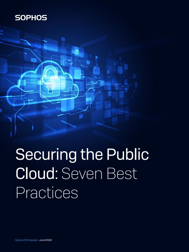 Securing the public cloud: Seven best practices