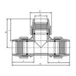 Plasson Tee Technical