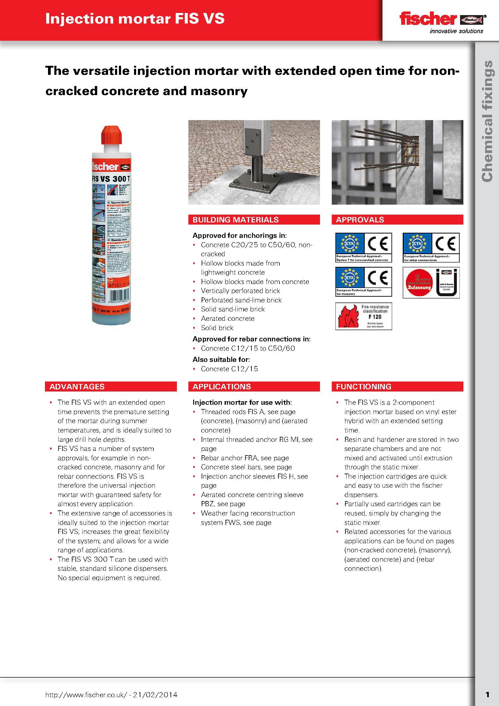 Spare Nozzle For Fischer Cartridges PDF