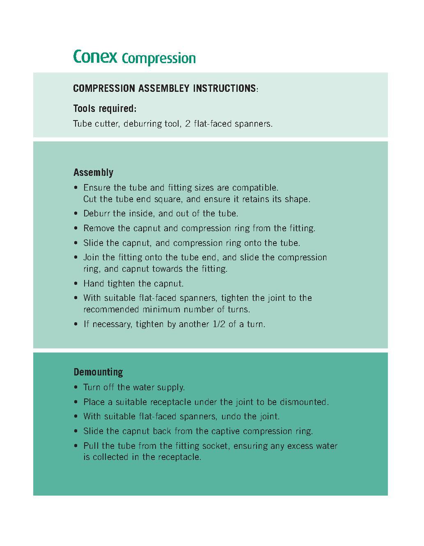 Conex Male Coupler PDF