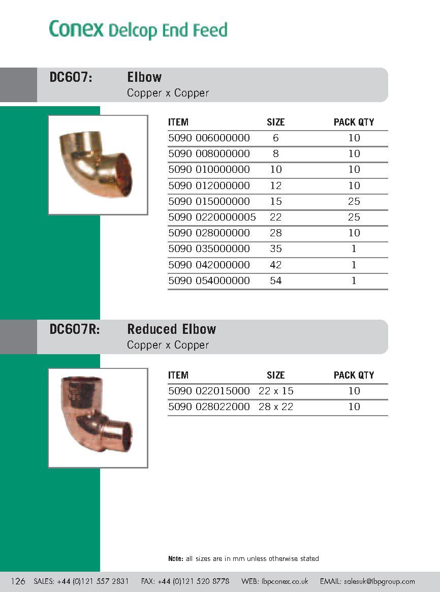 Endfeed Wras 28mm 607 Elbow (c) PDF