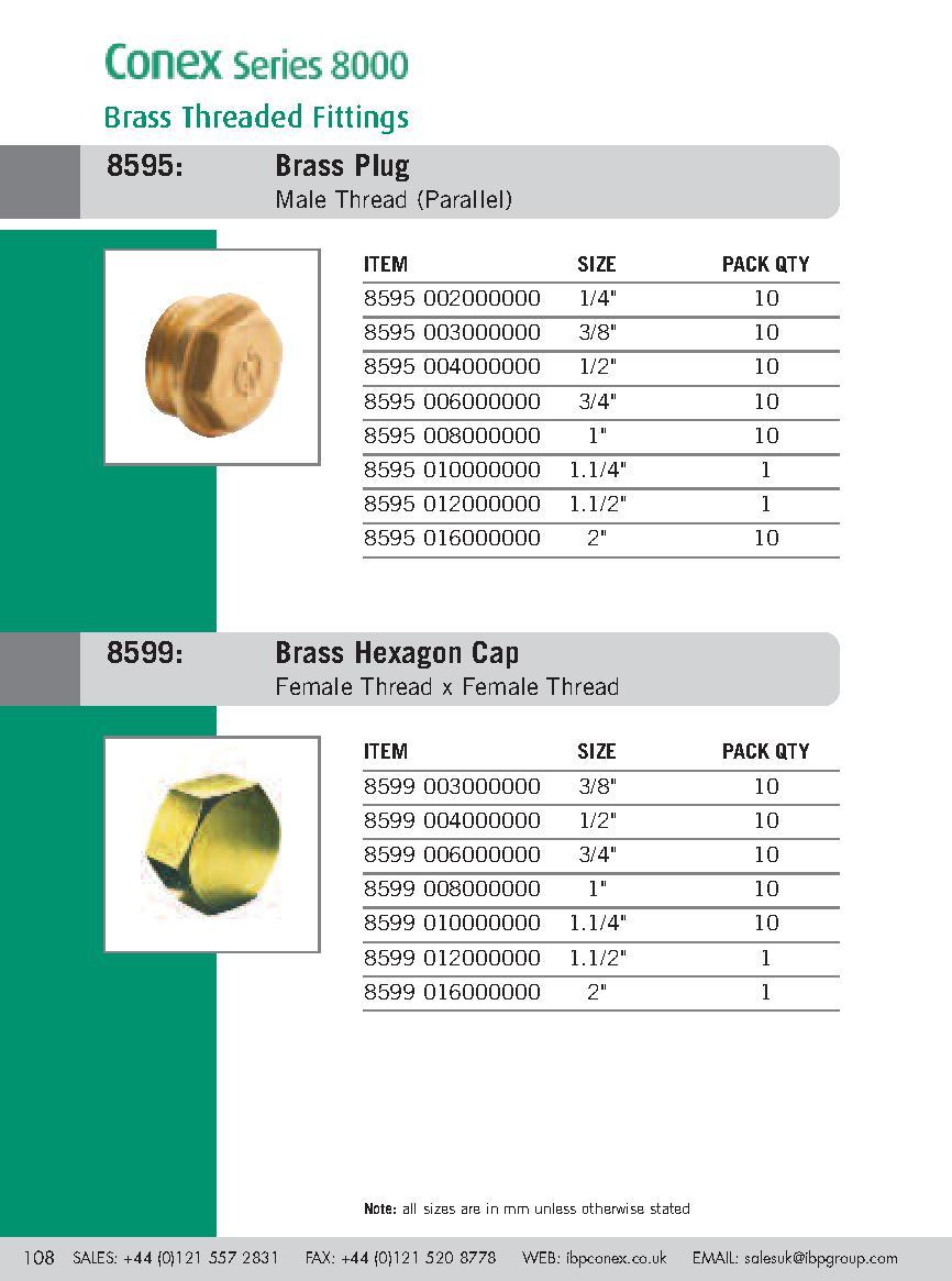 Brass Plug PDF