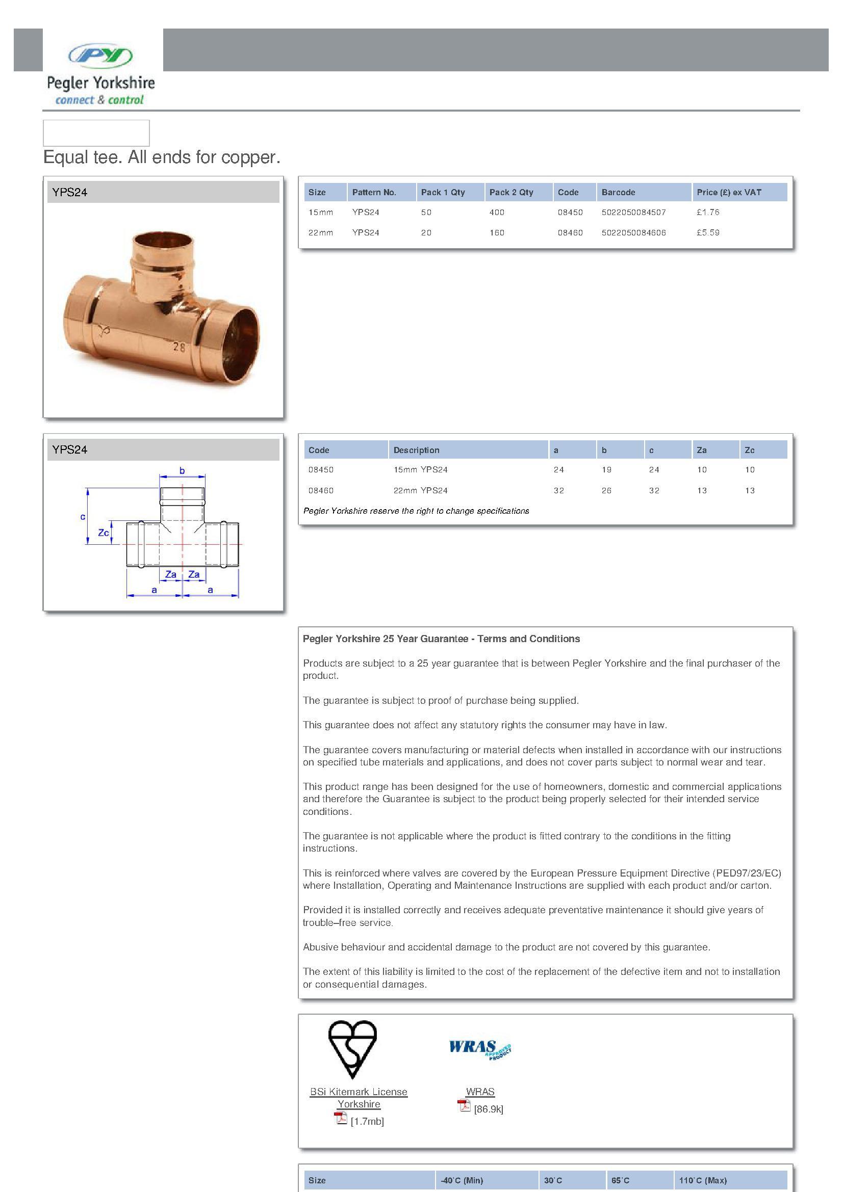 Equal Tee PDF
