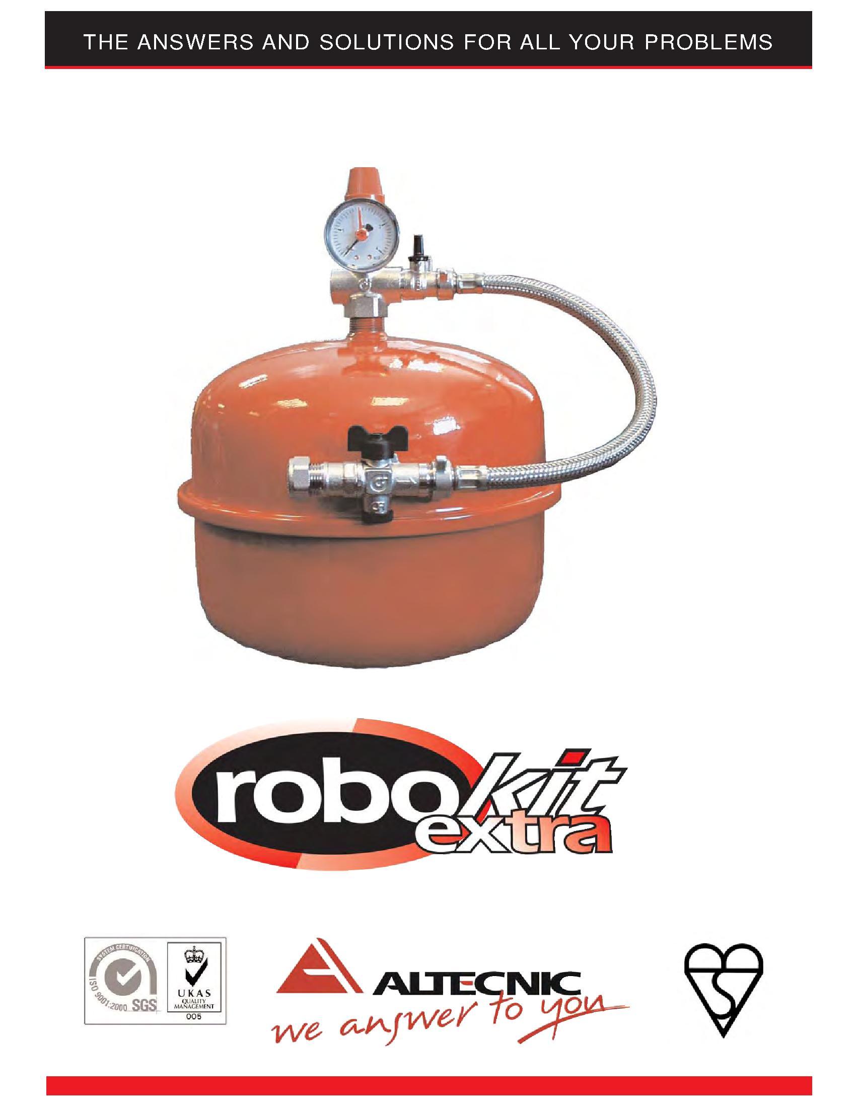 Altecnic Er-Ecokit Sealed System Kit Robo PDF