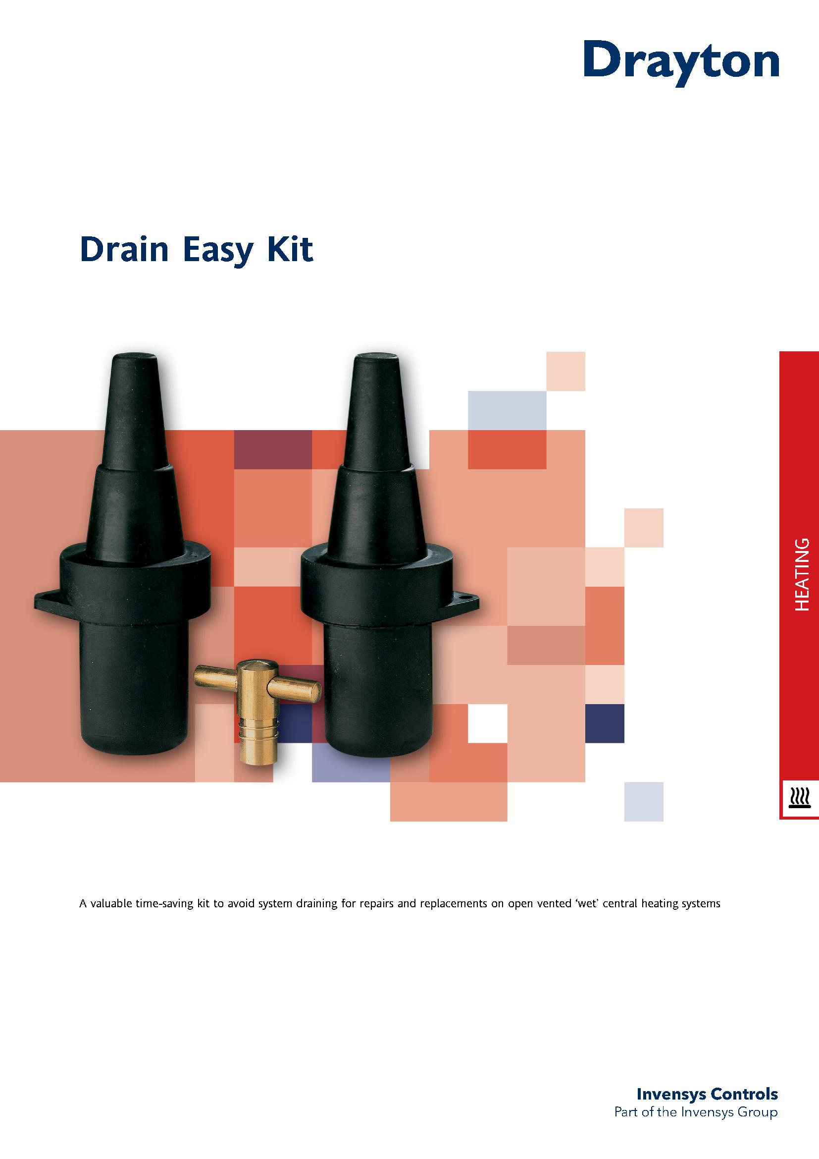 Drayton Drain Easy Kit Kx83101 Harris Amp Bailey Ltd
