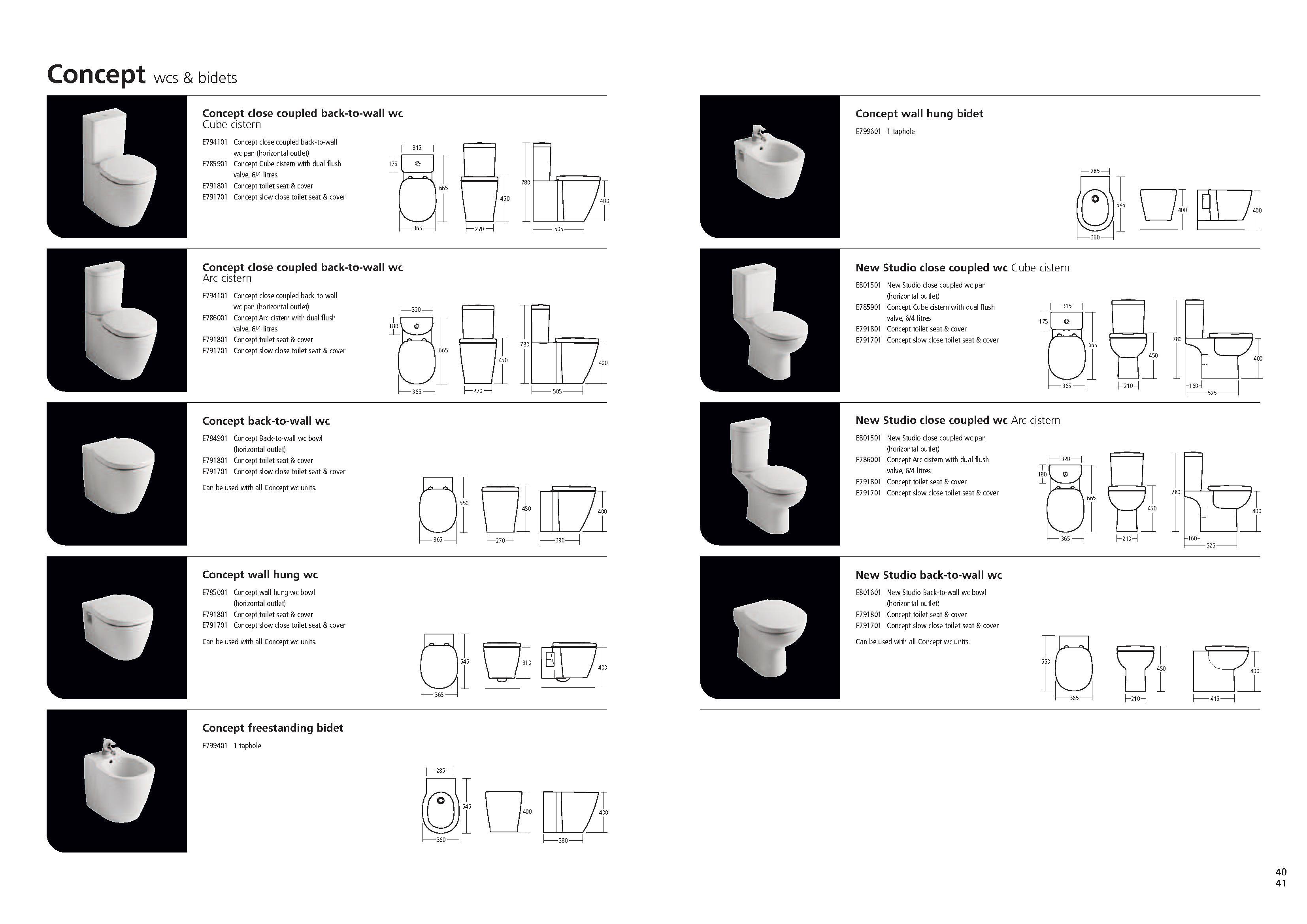 Concept Slow Close Seat PDF