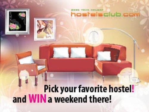 Избери  любимият си модерен Hostelsclub  Hostel