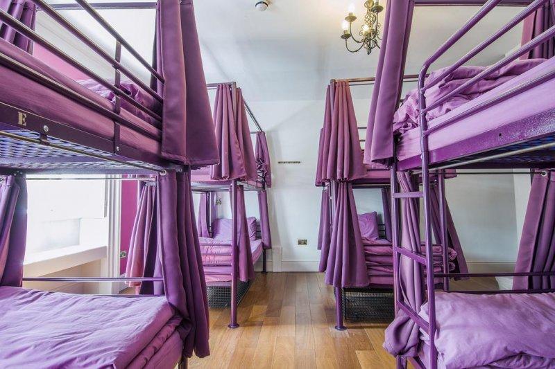 Safestay hostel dormitory