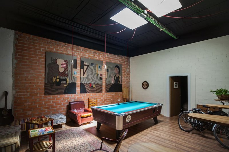 hostel with a games room