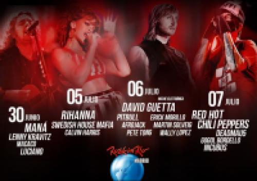 Лято в Мадрид - фестивал Rock In Rio!