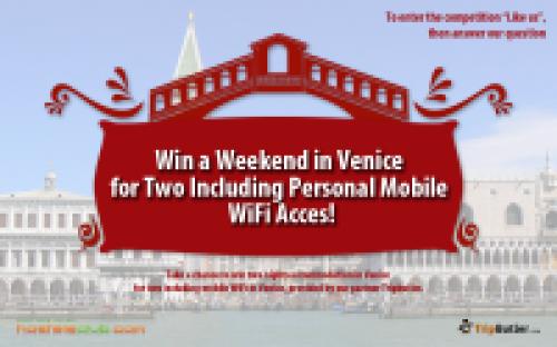 Спечели уикенд във Венеция за двама плюс интернет за телефон