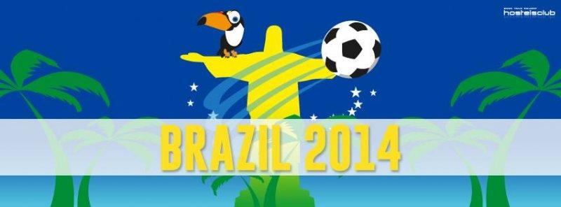 Световно първенство по футбол 2014 в Бразилия с HostelsClub.com