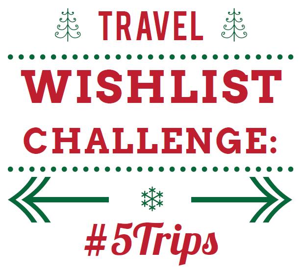 旅行愿望清单大挑战: #5trips