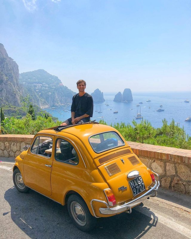 Capri and its rock formations
