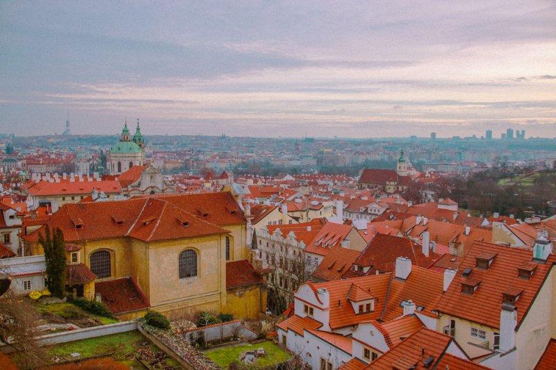 布拉格城堡前门
