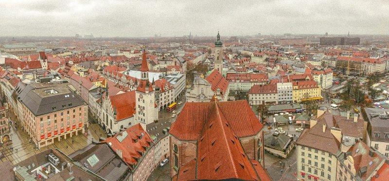 慕尼黑市中心