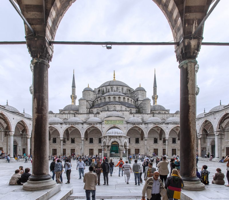 The blue Mosque, the best thing to do in Istanbul