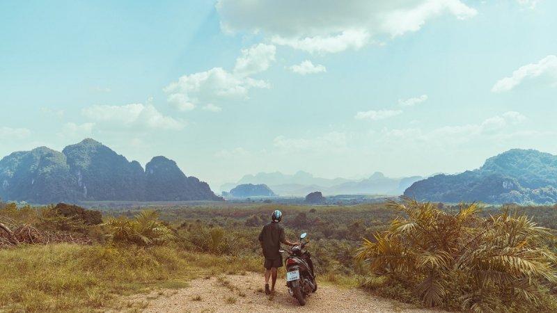 Scootering around Thailand