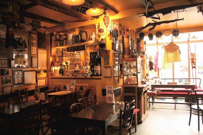 Brauereien in Brüssel, Poechenellekelder innen