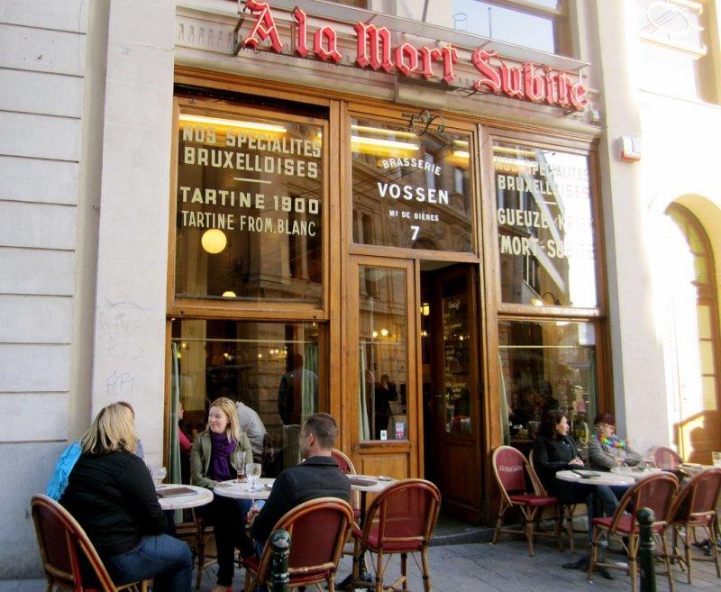 Brauereien in Brüssel, A La Mort Subite außen
