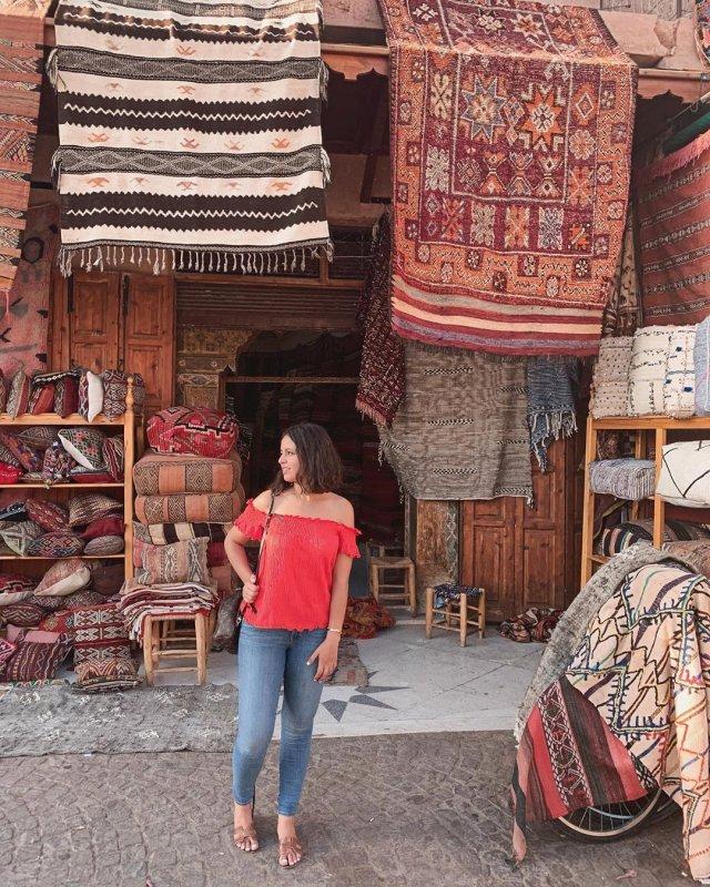 Marrakesch Markt Auszeit Auslandsaufenthalt