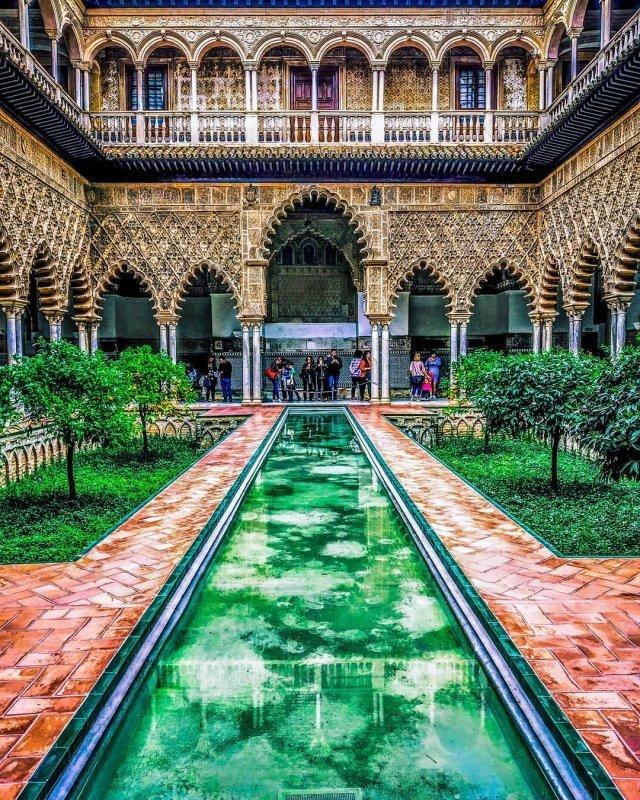 Drehorte von GoT: Alcazar in Sevilla